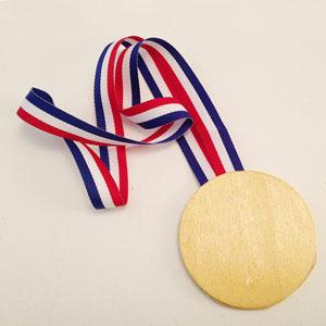 Олимпийская медаль своими руками