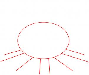 Как нарисовать костер