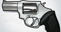 Как нарисовать револьвер