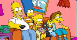 Найди отличия - Симпсоны