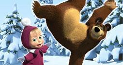 Найди отличия - Маша и медведь