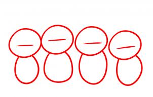Как нарисовать телепузика