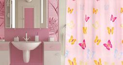 Как выбрать шторку для ванной комнаты