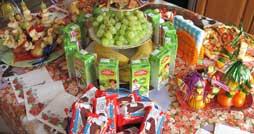 Что приготовить на детском празднике на стол