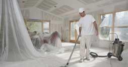 Как убрать коттедж после строительства