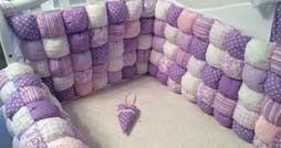 Как выбрать бортик в детскую кроватку