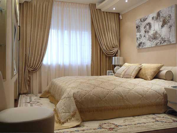 Какие шторы должны быть в спальне