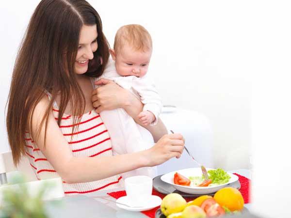 Правильное питание для кормящей мамы