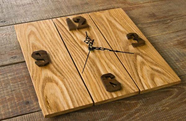 Купить деревянные дизайнерские часы