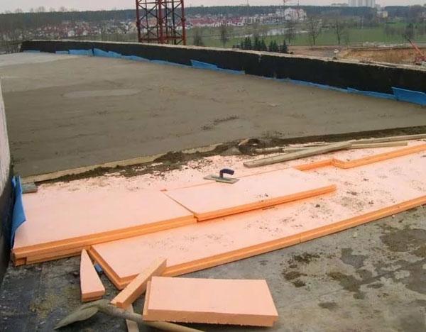 Использование пеноплекса в дорожном строительстве