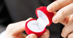 Как выбрать кольцо для предложения девушке