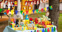 День рождения в стиле Лего