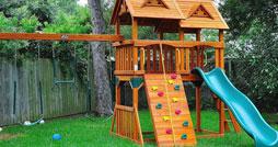 Как выбрать детскую площадку для дачи